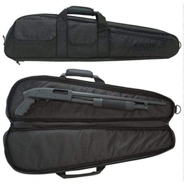 """Allen Company Rifle Case 2 Allen Pistol Grip Shotgun Case, 32"""", Black"""