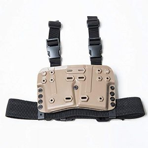 FMA Tactical Pouch 1 FMA Drop Leg Mag Carrier for Tactical Airsoft Hunting Game DE