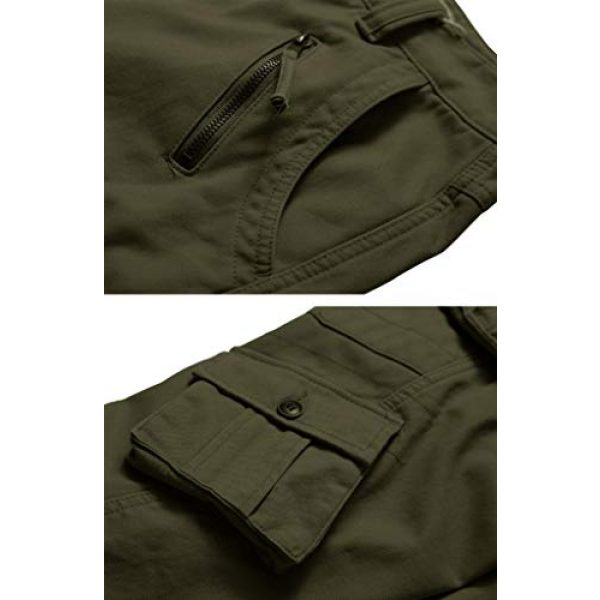 TRGPSG Tactical Pant 4 Men's Cotton Wild Cargo Pants Military Army Camouflage Casual Work Combat Hiking Trousers with 8 Pockets