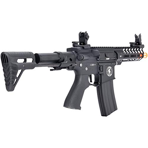 Lancer Tactical  2 Lancer Tactical ProLine NEEDLETAIL PDW Airsoft AEG Rifle Low 350 FPS Black