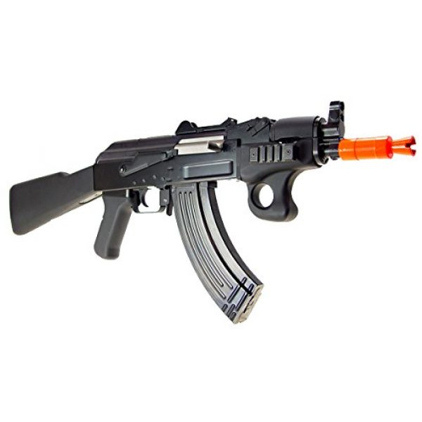 SRC Airsoft Rifle 3 src aeg-a7 spetsnaz semi/full auto nimah/charger included-metal(Airsoft Gun)