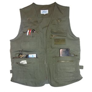 BLUE STONE SAFETY Airsoft Tactical Vest 1 Blue Stone Safety YKK Zippers Throughout Entire Concealment Vest