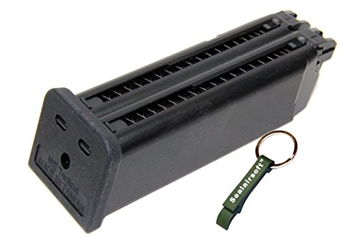 WE  1 WE 48rds Airsoft Gas Magazine For Double Barrel G17 Series GBB -Mobile Ring Included