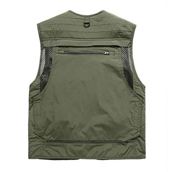 DAFREW Airsoft Tactical Vest 2 DAFREW Summer Vest Men's Quick-Drying Vest Outdoor Leisure Vest Multi-Pocket Detachable Vest (Color : Dark Blue, Size : M)