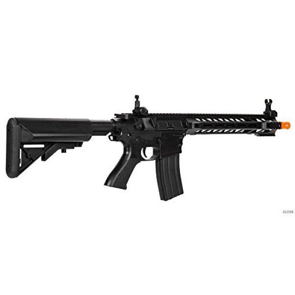 Lancer Tactical Airsoft Rifle 2 Lancer Tactical Interceptor SPR (Black LT-25B)