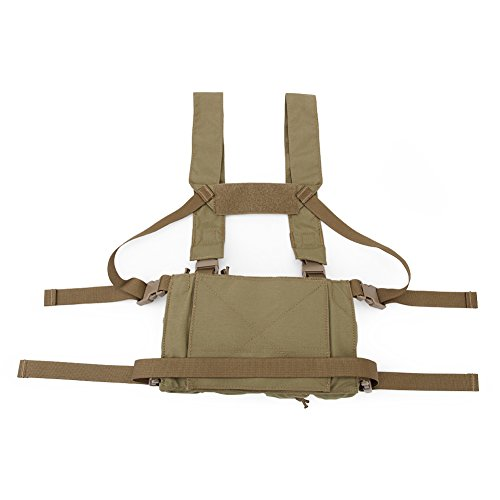 DETECH Airsoft Tactical Vest 3 DETECH Tactical Chest Rig Combat Recon Gear Vest with Magazine Pouch for Airsoft Hunting Games