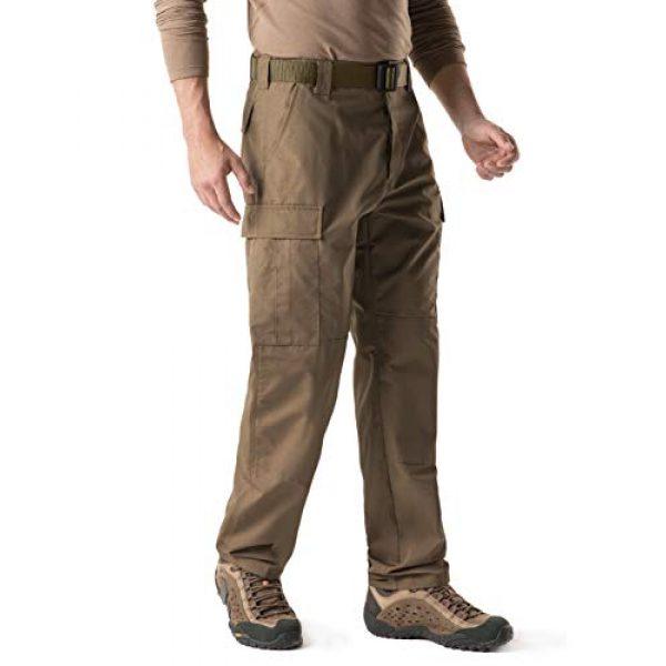 CQR Tactical Pant 4 Men's Tactical Pants, Military Combat BDU/ACU Cargo Pants, Water Repellent Ripstop Work Pants, Hiking Outdoor Apparel