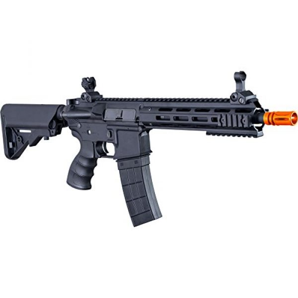 Tippmann Airsoft Airsoft Rifle 5 Tippmann Tactical Recon AEG CQB 9.5in Airsoft Rifle Black