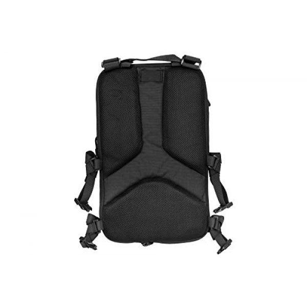 Lancer Tactical Airsoft Tactical Vest 6 Lancer Tactical 1000D Nylon QD Chest Rig and Backpack Combo Black