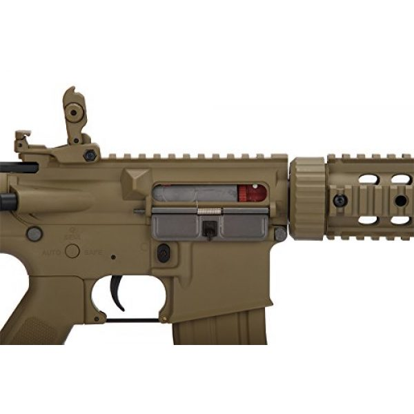 Lancer Tactical Airsoft Rifle 6 Lancer Tactical Airsoft M4 SD GEN 2 Polymer AEG - TAN