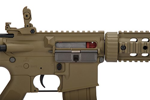 Lancer Tactical  6 Lancer Tactical Airsoft M4 SD GEN 2 Polymer AEG - TAN