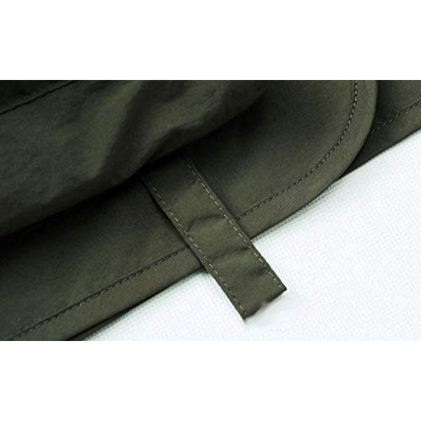 DAFREW Airsoft Tactical Vest 6 DAFREW Men's Vest Spring and Autumn Vest Multi-Pocket Convenient Vest Outdoor Fishing Vest (Color : Black, Size : XL)