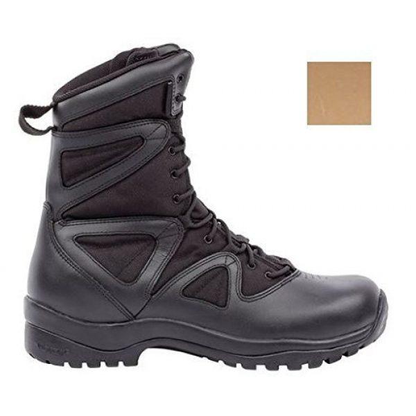 BLACKHAWK Combat Boot 1 BLACKHAWK 83BT18DE-075W Ultralight Boot, Wide/Size 5, Desert Tan