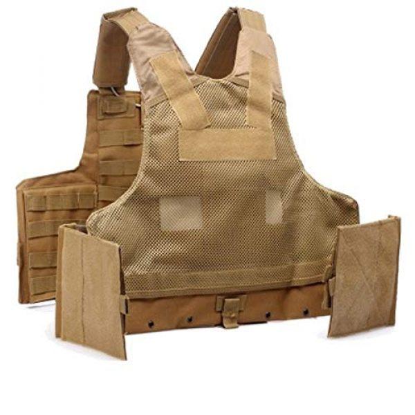 GXYWAN Airsoft Tactical Vest 5 GXYWAN Tactical Vest, Ghost Anti-War Vest Combat Suit Camouflage Wire Vest Eight-Piece Suit Camouflage Combat Vest
