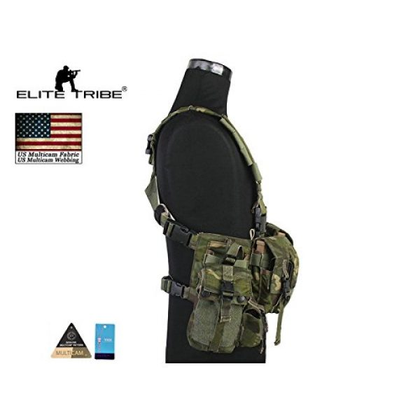 Elite Tribe Airsoft Tactical Vest 3 Elite Tribe Airsoft Military Molle Vest Combat Tactical LBT 1961A R Style Load Bearing Chest Rig