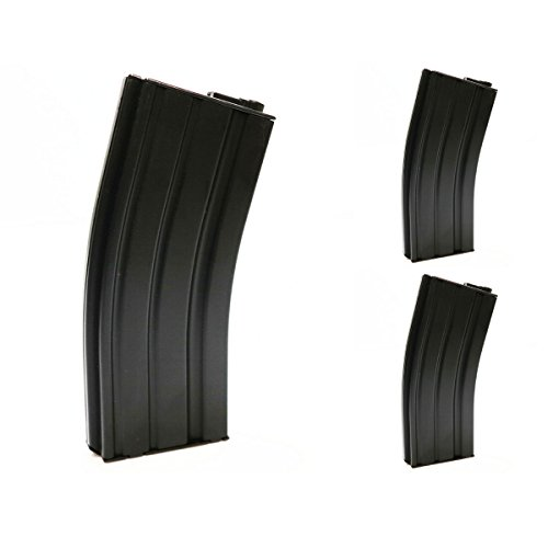 Airsoft Shopping Mall  1 Airsoft Shooting Gear CYMA 3pcs Pack 270rd Plastic Magazine for M-Series AEG Black