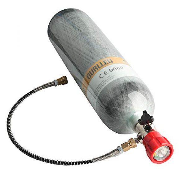 IORMAN Airsoft Gun HPA Tank 2 IORMAN 30 Cu.Ft / 4500 PSI Carbon Fiber Tank Cylinder Station with DIN Valve & Protective Bag (Empty Bottle)