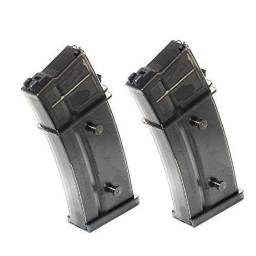 Generica  1 Generica Airsoft Spare Parts Army 2pcs 30rd Mag Gas Magazine for R36 WE G39 G39C GBB