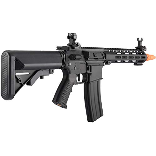 Lancer Tactical  5 Lancer Tactical Classic Army Skirmish Series ML10 M4 M-LOK AEG Airsoft Rifle Black 350 FPS