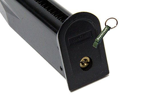 KJW  4 KJ Works 24rds Airsoft Metal 6mm GAS Magazine For P229 KP02 GBB -Mobile Ring Included