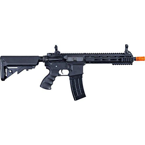 Tippmann Airsoft  6 Tippmann Tactical Recon AEG CQB 9.5in Airsoft Rifle Black