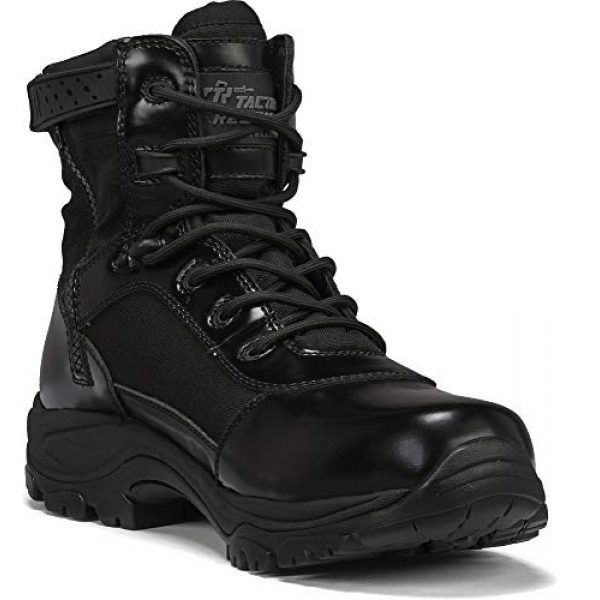 """Belleville Tactical Research TR Combat Boot 1 Belleville Tactical Research TR Men's Class-A TR906Z 6"""" Hot Weather High Shine Side-Zip Boot"""