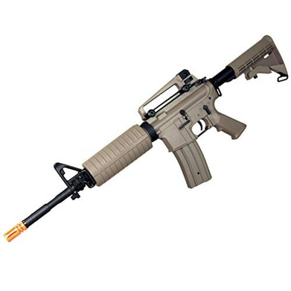 MetalTac Airsoft Rifle 2 MetalTac Electric Airsoft Gun with Metal Gearbox Version 2, Full Auto AEG, Powerful Spring 370 Fps with .20g BBS