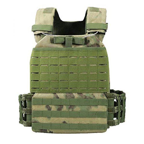 No! Airsoft Tactical Vest 1 No! Tactical Vest Army Fan Viking Vest 511 Lightweight Camouflage Vest Loaded Vest