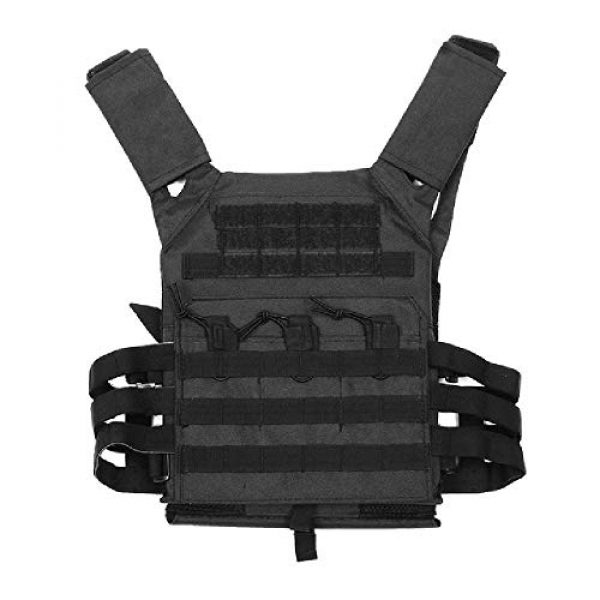 BGJ Airsoft Tactical Vest 1 Hunting Tactical Body Armor JPC Molle Plate Carrier Vest Outdoor CS Game Paintball Airsoft Vest Military Equipment