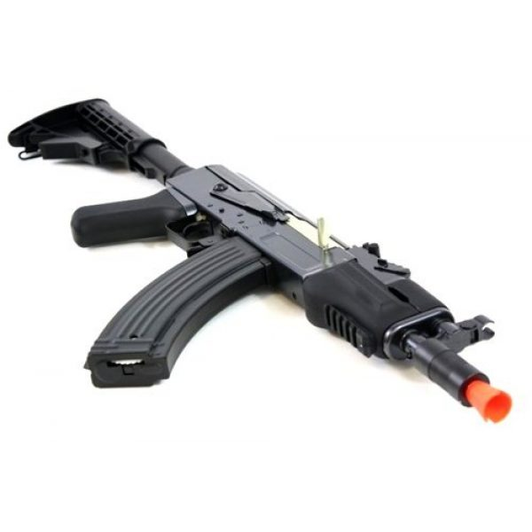DE Airsoft Rifle 4 DE AK47-HS [Hybrid Spetsnaz] Metal Body Fully Automatic Electric AEG Rifle - Newest Enhanced Model