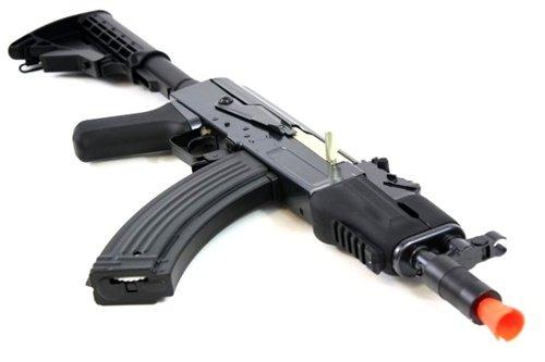 DE  4 DE AK47-HS [Hybrid Spetsnaz] Metal Body Fully Automatic Electric AEG Rifle - Newest Enhanced Model