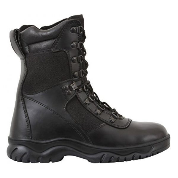 """Rothco Combat Boot 2 Forced Entry Tactical Boot with Side Zipper / 8"""""""