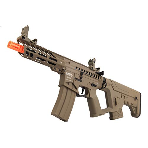 Lancer Tactical  5 Lancer Tactical Enforcer NEEDLETAIL Skeleton AEG Low FPS TAN