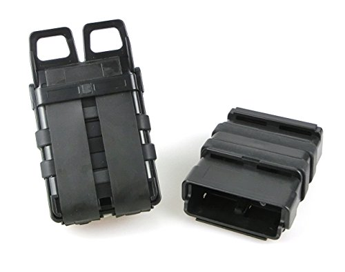ATAIRSOFT  5 ATAIRSOFT Tactical FastMag Molle Pouch Double 5.56 Magazine Holster Bag for AR M4 M16