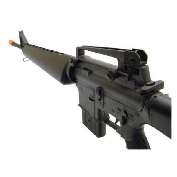 Prima USA Airsoft Rifle 2 jg m16a1 vietnam aeg airsoft rifle with full stock - black(Airsoft Gun)