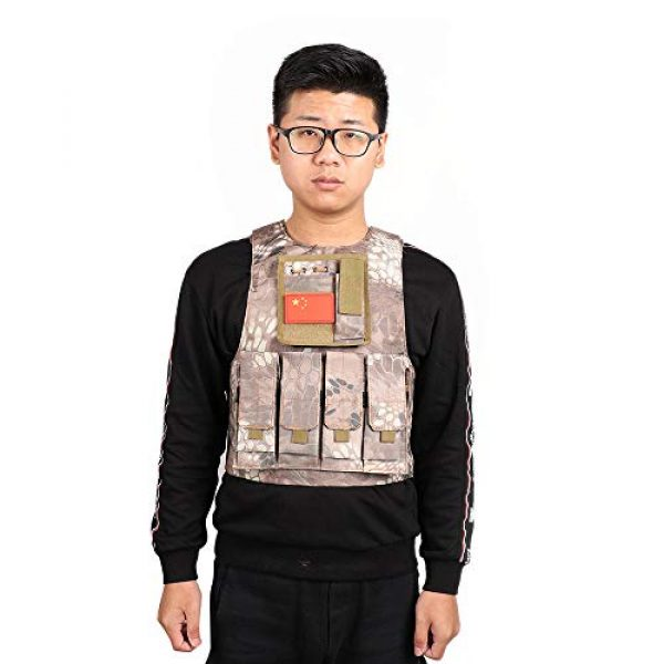 Direct Collection Airsoft Tactical Vest 2 Direct Childrens Game Vest Armor cs Bulletproof Equipment Props