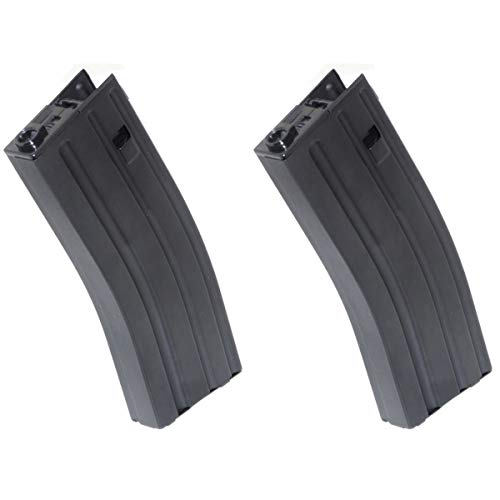 Airsoft Shopping Mall  1 Airsoft Shooting Gear 2pcs 430rd Hi-Cap Mag Magazine for Army Next Generation Genii M4 AEG