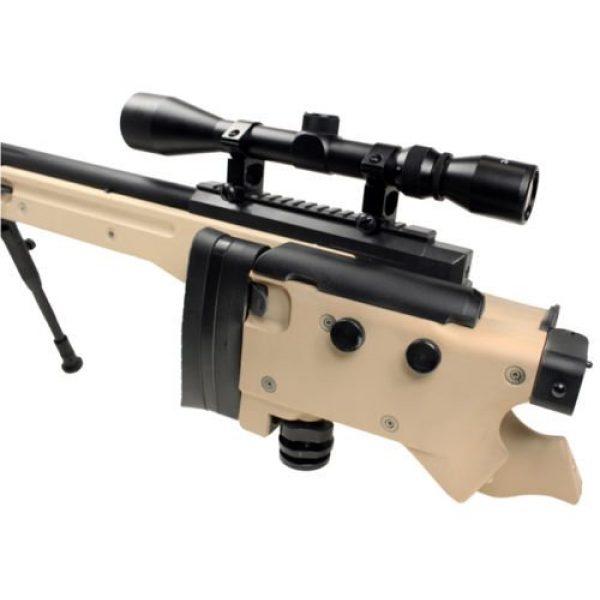 Well Airsoft Rifle 3 Well bolt action sniper airsoft rifle we metal gas CO2 blowback gun 5,000 bb's(Airsoft Gun)