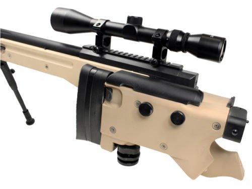 Well  2 Well bolt action sniper airsoft rifle we metal gas CO2 blowback gun 5