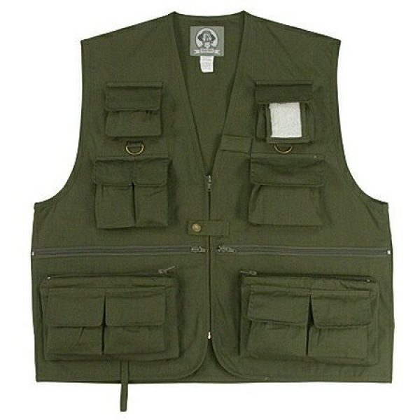 Rothco Airsoft Tactical Vest 1 Rothco Uncle Milty Travel Vest - Olive Drab 7540