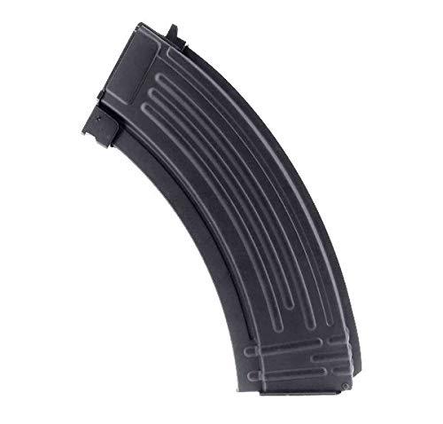 Jing Gong (JG)  1 Jing Gong 600 Round Flash Metal High Capacity Flash Magazine for AEG AK47 AK74 Airsoft - Black