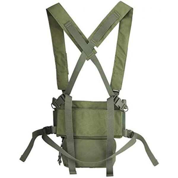 N/W Airsoft Tactical Vest 3 N/W Tactical Vest X Harness Rifle Pistol Magazine Pouch CRX Hunting Gear Accessories Chest Frame for Airsoft Paintball Shooting
