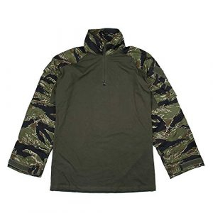 TMC  1 TMC ORG Cutting G3 Combat Shirt (Green Tigerstripe) for Airsoft Hunting Game