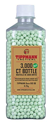 Tippmann Airsoft  1 Tippmann 6mm ECO BBS - 3000ct Bottle - Light Green