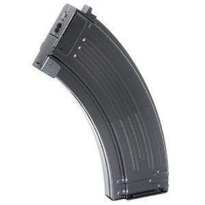 Airsoft Shopping Mall Airsoft Gun Magazine 1 Airsoft Shooting Gear 500rd Mag Hi-Cap Magazine For AEG AK-Series Black