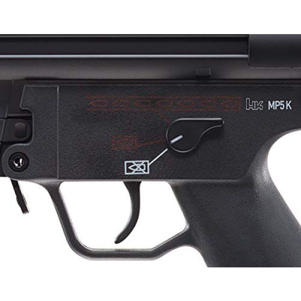 Elite Force Airsoft Rifle 4 Elite Force HK Heckler & Koch MP5 AEG Automatic 6mm BB Rifle Airsoft Gun, MP5K, Multi (2275055), One Size