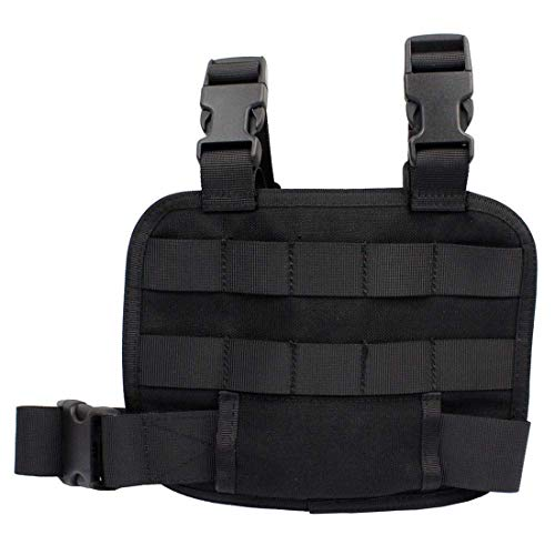 WOLFBUSH  4 WOLFBUSH 1000D Tactical Mag Pouch MOLLE Tactical Leg Platform for 7.62/9mm Cartridge for Hunting/Paintball/Airsoft