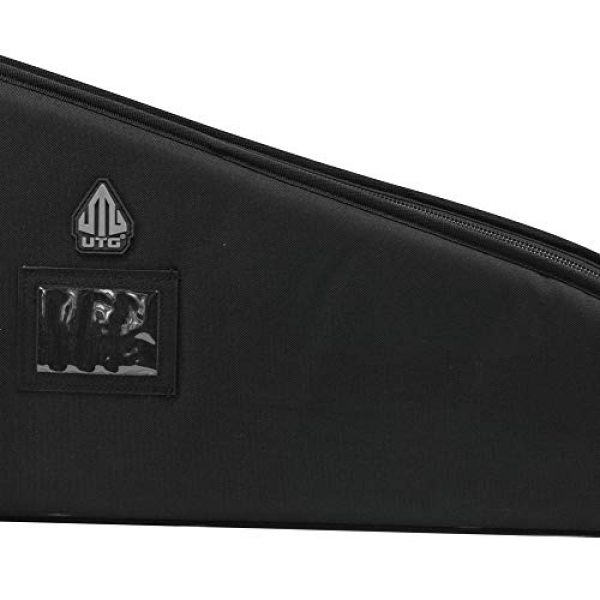 "UTG Rifle Case 5 42"" UTG DC Series Tactical Gun Case with Added Capacity (Black)"