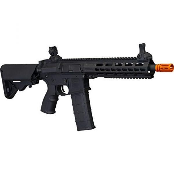 Tippmann Airsoft Airsoft Rifle 2 Tippmann Tactical Commando AEG CQB 10.5in Airsoft Rifle Black
