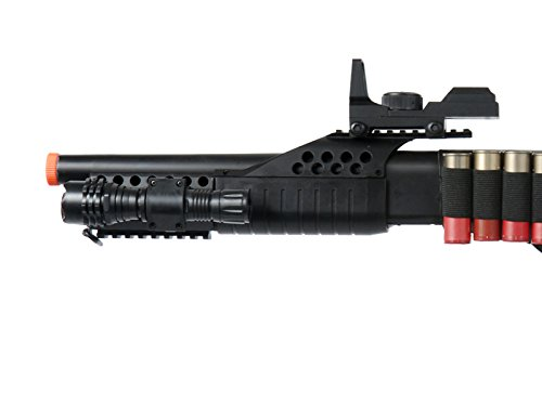 UKARMS  2 UKARMS Tactical Specialist RIS Spring Airsoft Shotgun FPS-320 w/Accessories